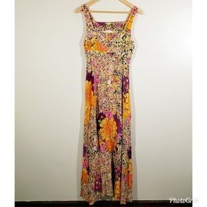H&M | Floral Maxi Summer Sundress